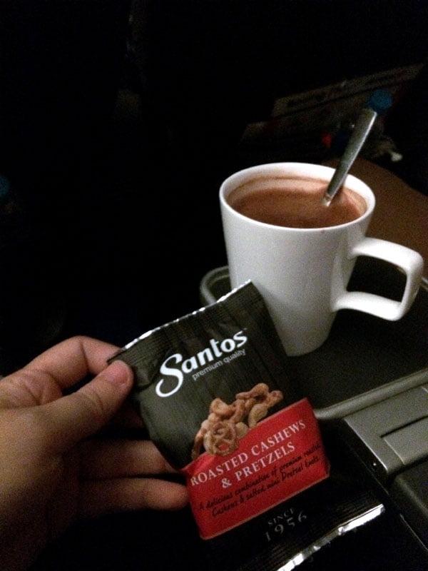Jetstar Melbourne Food Hot Choco