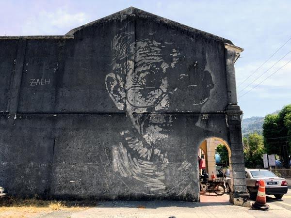 Penang Street Art - Balik Pulau Silversmith ErnestZ