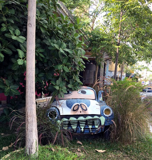 Penang Street Art - Hin Bus Depot Car
