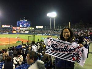Watching Baseball in Tokyo – Go Go Swallows!