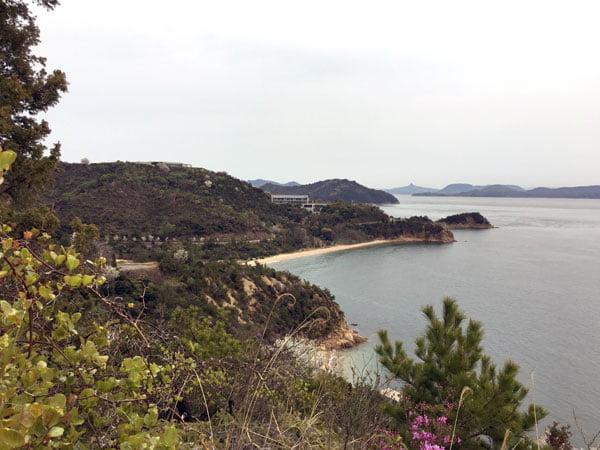 Naoshima - Benesse House View