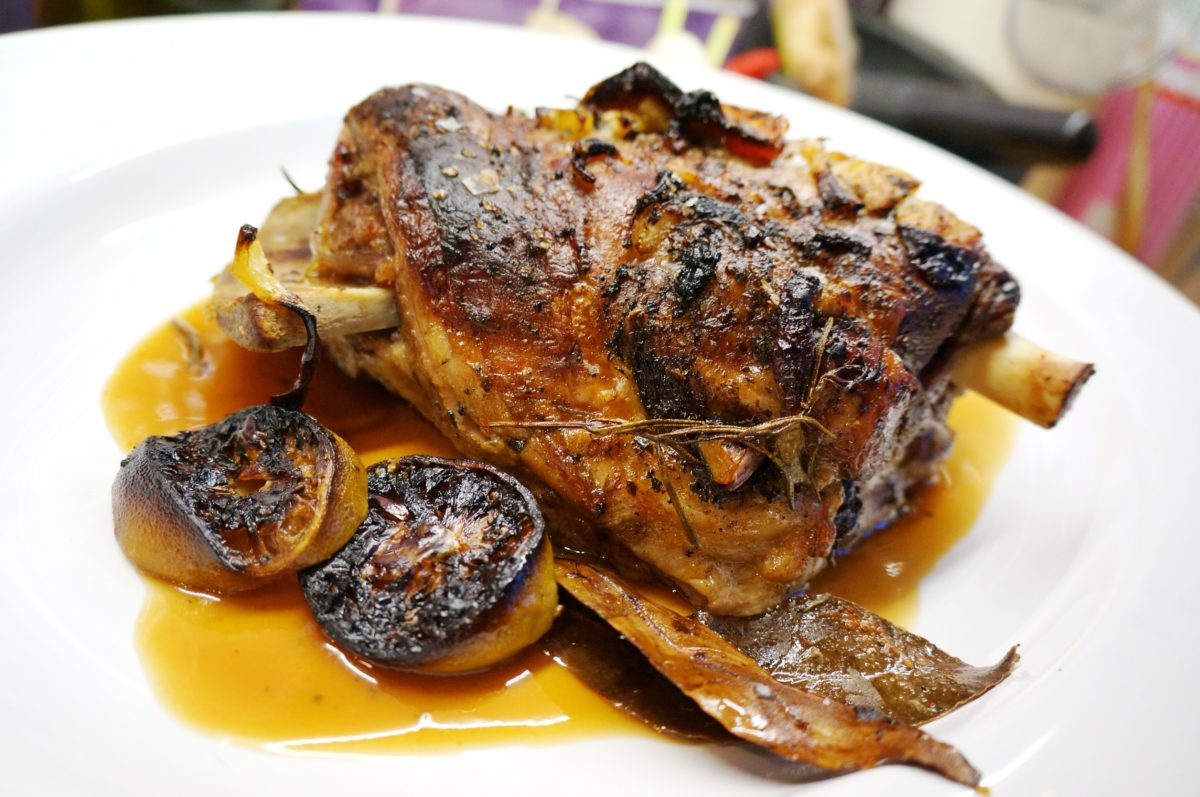 Lamb Meat Cooked Roast Lamb From Cyprus Ofto Kleftiko Recipe Dishmaps