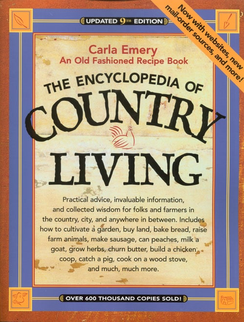 Free must read off grid books for Country living 500 kitchen ideas book