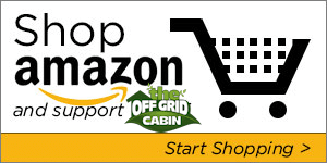 Shop Amazon and Support The Off Grid Cabin