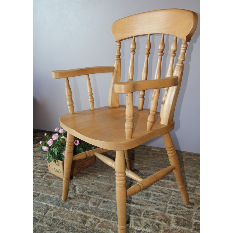 High Chair For Kitchen Island 'spindle Back' Beech Carver Chair