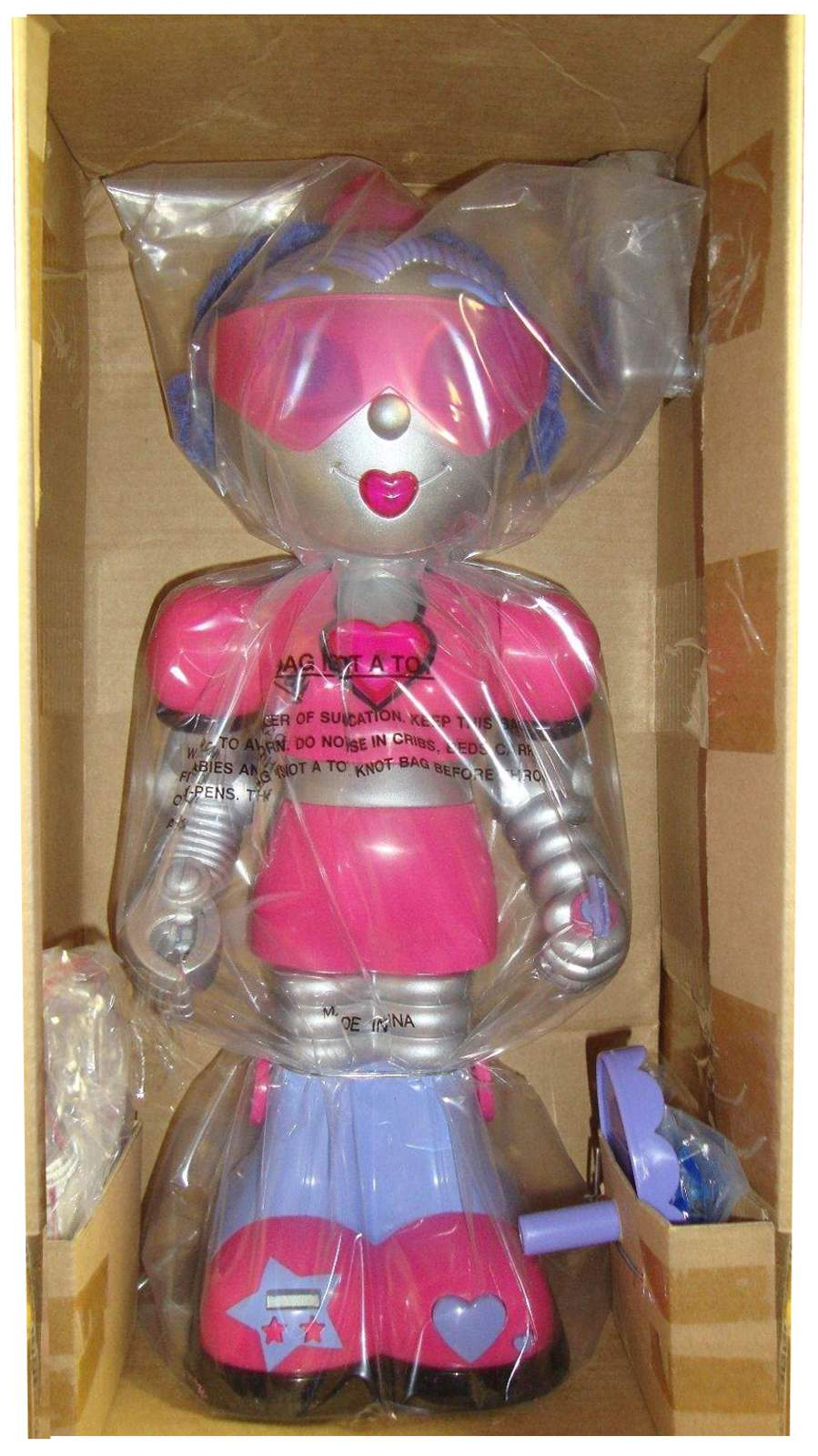 Bank Schwarz Girlbot Interactive Robotic Personal Assistant - The Old
