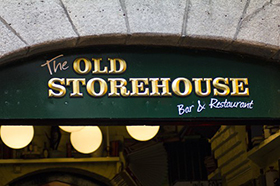 The Old Storehouse, Temple Bar, Dublin
