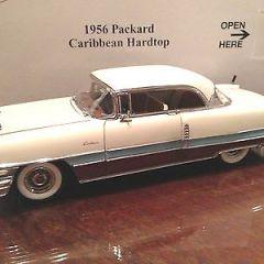1956  PACKARD  Caribbean  Hardtop by  Danbury Mint  1:24  MINT IN BOX