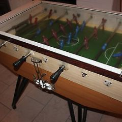 Glass top Retro 70's professional coin-operated table football machine