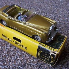 Rolls Royce convertible (like Dinky Bentley S2 Coupe) by Nicky Toys (my ref 9591
