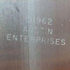 Austin cox enterprise 1962 Aluminium Chess set made for Alcoa Mid century eames