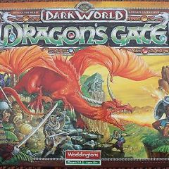 """Dragons Gate"" Very Rare Vintage Board Game Expansion by Waddingtons MINT"