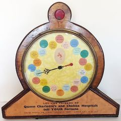 c1930 1D Coin Operated Fortune Telling Amusement Game By Gosco Automatics Co