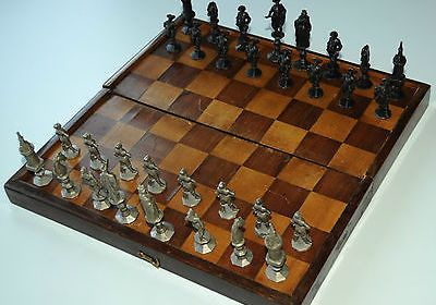 Rare antique chess set from Zimmerman Germany.