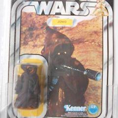 Star Wars 1978 Jawa Kenner 12 back ununched UKG (UK AFA) 85 (C85, B85, F90)
