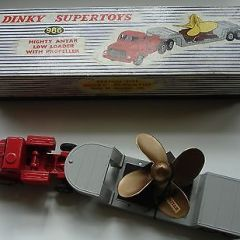 Dinky Supertoys 986 Mighty Antar Low Loader with Propeller Boxed