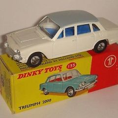 Dinky Toys GB 135 Triumph 2000 Scarce SUPERB PROMOTIONAL!