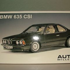 BMW 635 CSI by Auto Art in 1/18 Scale. Not minichamps.