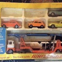Corgi Toys Gift Set 20 – Car Transporter – Mazak Diecast Scale Models 1970