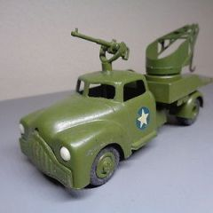 VILMER DENMARK No 456 VINTAGE 1950'S DODGE MILITARY TOW TRUCK VERY RARE NMINT
