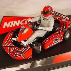 Ninco Super Kart #57 Spider Team 50238 MB slot car
