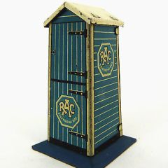 PRE WAR DINKY TOYS TINPLATE RAC BOX No 43a