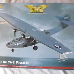 CORGI AVIATION ARCHIVE:AA36102 PBY-5A CATALINA:USAAF SOUTH PACIFIC:1/72 DIECAST