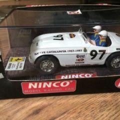Ninco runs Scalextric 50136  Ferrari 166mm Slot Car New R.A.C.C 1997 Barchetta