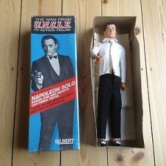 MAN FROM UNCLE NAPOLEON SOLO by GILBERT – ALL ORGINAL AND COMPLETE