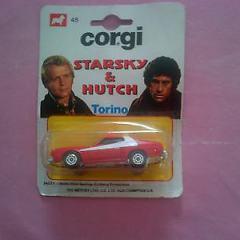 Corgi Juniors 45 Diecast Starsky & Hutch Gran Torino Whizzwheels (On Card)