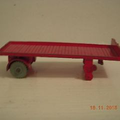Dinky toys vintage diecast Bedford Articulated trailer marked Dublo Dinky