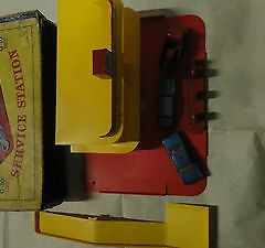 Rare Diecast Car Matchbox Lesney Set G 10 Service Station Original Box 1960