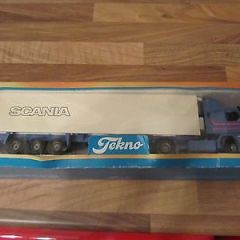 Tekno Scania 1:50 diecast model truck
