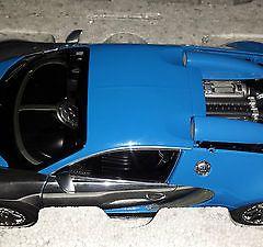 1/18 Autoart Bugatti Veyron Centenaire BLUE New RELEASE  Veyron 16.4 FRANCE