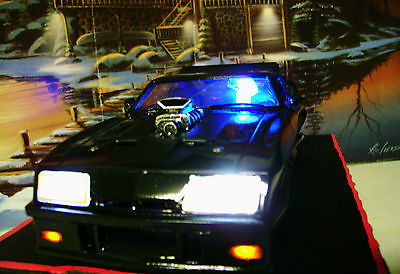 AOSHIMA MAD MAX-1 1973 FORD FALCON BLACK MFP-INTERCEPTOR 1/24 Model Slot Car