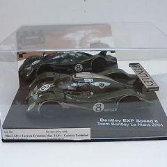 Carrera Evolution 25452 Bentley speed 8, runs on Scalextric 1/32 slot car .