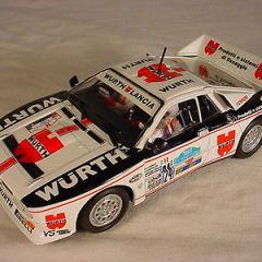 Ninco Lancia 037 #24 Wurth 50621 Mint slot car