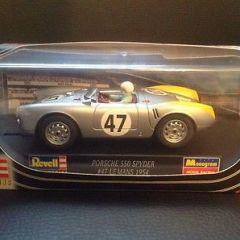 Revell slot car,Porsche 550 spyder