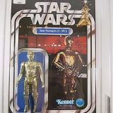 Vintage 1978 Kenner Star Wars C-3PO 12 Back-C AFA 80 NM (C80/B80/F85)