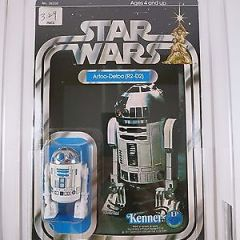 Vintage 1978 Kenner Star Wars R2-D2 12 Back-A AFA 75 EX+/NM (C75/B85/F85)