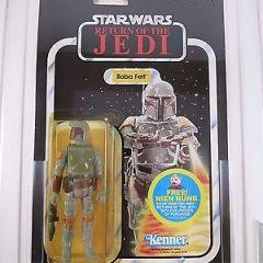Vintage 1983 Kenner Star Wars Boba Fett ROTJ 48 Back AFA 70 Y-EX+ (C80/B70/F85)