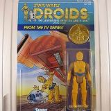 Vintage 1985 Kenner Star Wars Droids C-3PO AFA 85 Y-NM+ (C85/B80/F85)