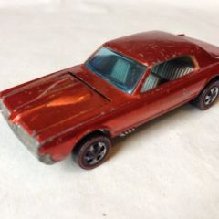 VINTAGE DIECAST HOT WHEELS REDLINES ERA 1967 CUSTOM MERCURY COUGAR – GOOD