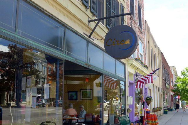 downtown restaurant Cazenovia