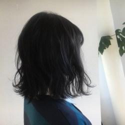 黒髪 オシャレ