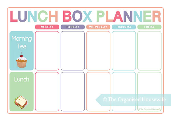 Daily Calendar Box Template 2017 Calendar Template Large Boxes Free Printable Templates Planning Food For Lunch Boxes Is Just As Important As