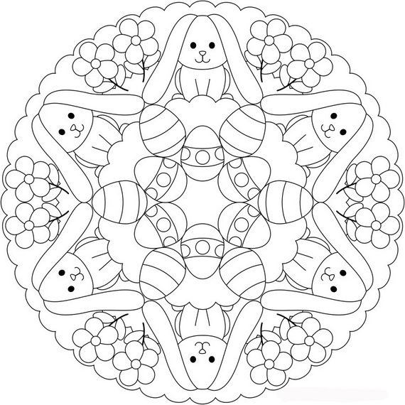 Free Easter Colouring Pages - The Organised Housewife - how to get pages for free