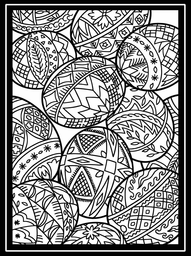 15 Easter Colouring In Pages - The Organised Housewife - how to get pages for free