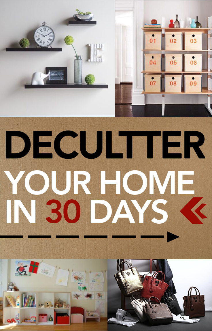 Home Organization Declutter Your Home In 30 Days