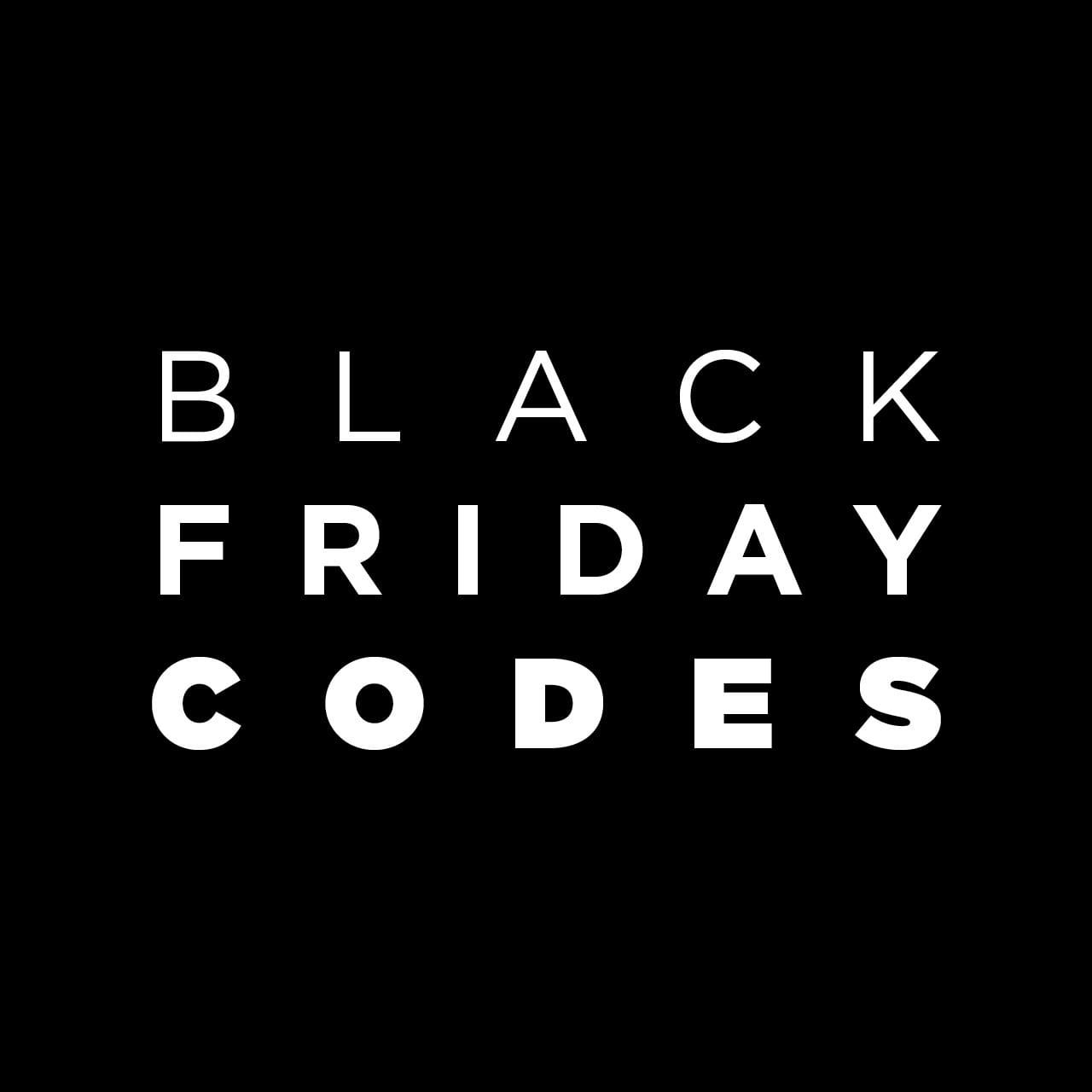 Black Freday Black Friday Codes